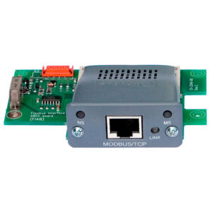 INDUSTRIAL ETHERNET OPTION WITH MODBUS/TCP PROTOCOL