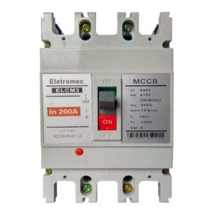 Interruptor Termomagnetico de 3P-160A