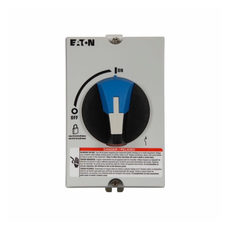 Switch Rotatorio en BT, Norma UL508, 3P/30A, no incluye fusi