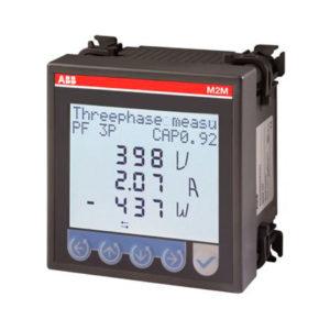 Medidor de parametros electricos M2M protocolo Modbus TCP/IP